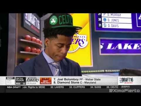 2016 NBA Draft   #31 Pick׃ Deyonta Davis   Boston Celtics