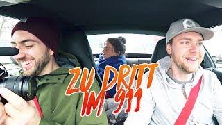 Meine Freundin, Ayhan und ich im Porsche 911 - Wofür steht das T?