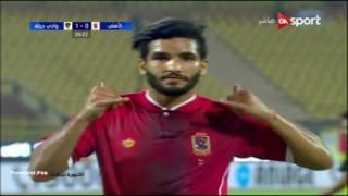 هدف الأهلي الأول في وادي دجلة مقابل 1 صالح جمعة بطولة كأس مصر 12 يوليو 2017 - AHLY07.com
