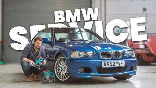 How EASY is a service? - BMW E46 Service (Oil & Spark Plugs)
