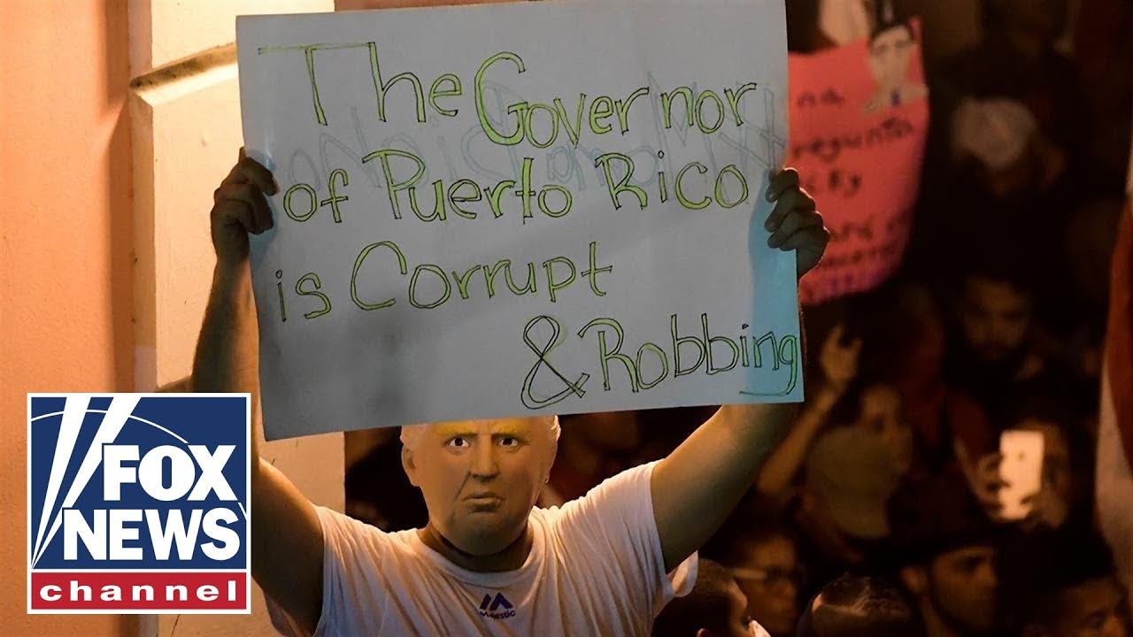 Congressional lawmakers join call for Puerto Rico's governor to resign