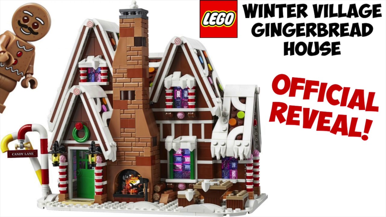LEGO GINGERBREAD HOUSE - Official Photos Revealed!