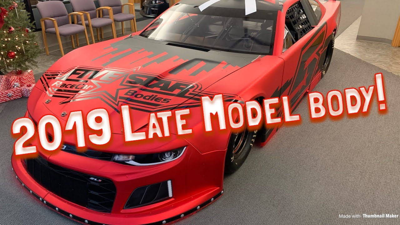The new 2019 Five Star Late Model body walk around and tour!