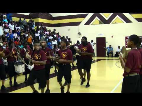 CEM Band Battle: C.E.Murray Marching In 2011