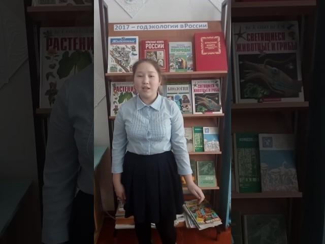 Изображение предпросмотра прочтения – АлинаБайдильдинова читает произведение «Чудеса!» В.В.Маяковского