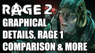 RAGE 2 Graphics Analysis - The Best Looking Open World Shooter?