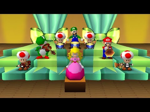 PERFECT in all MINIGAMES - Mario Party
