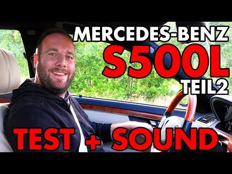 mercedes-benz-s500-l-w221-|-test-&-sound-+-0-100-|-oem-/-stock-|-teil-2-|-xhaust
