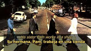 Mean Mr Mustard - The Beatles (LYRICS/LETRA) [Original]