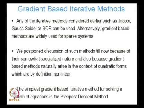 ARC Length and Gradient Based Methods video lecture by Prof Arghya