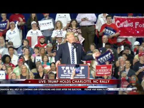 Full Speech: Donald Trump Rally in Charlotte, NC 10/14/16 *RSB Cameras