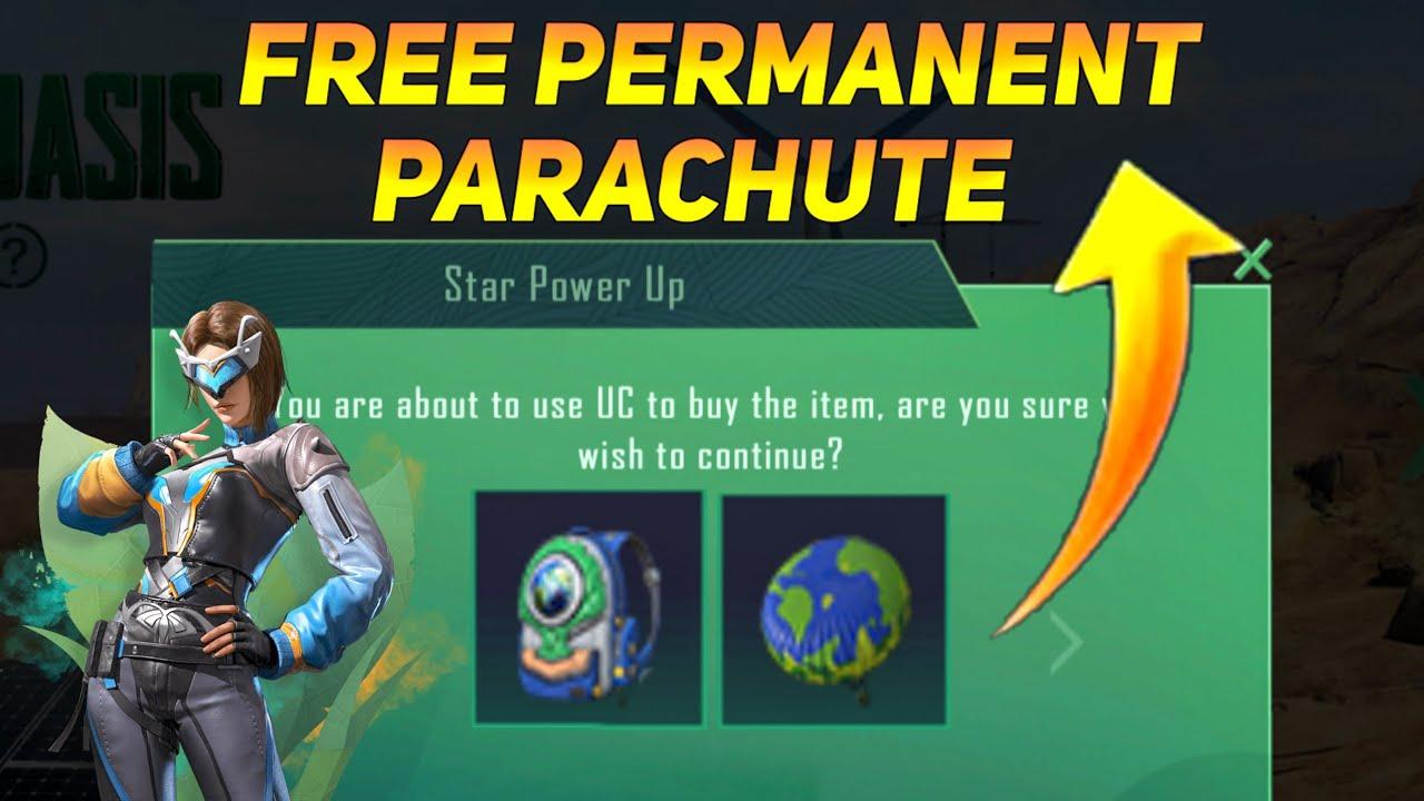 FREE PERMANENT EARTH PARACHUTE SKIN IN PUBG MOBILE - SAMSUNG,A3,A5,A6,A7,J2,J5,J7,S5,S6,S7,59,A10