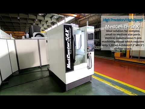 Kitamura Medcenter5AX Ultra Compact High Speed 5-Axis Machining Center - Automation Ready