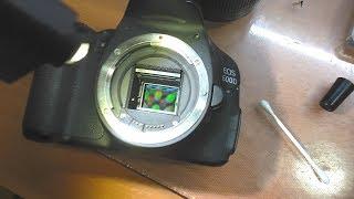 РЕМОНТ ДЛЯ ПОДПИСЧИКА: Зеркалка Canon 600D / Снимки внизу чёрные