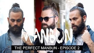 One of STYLEDBYNATE's most viewed videos: GROWING AND STYLING THE PERFECT MAN BUN 2018 - EPISODE 2