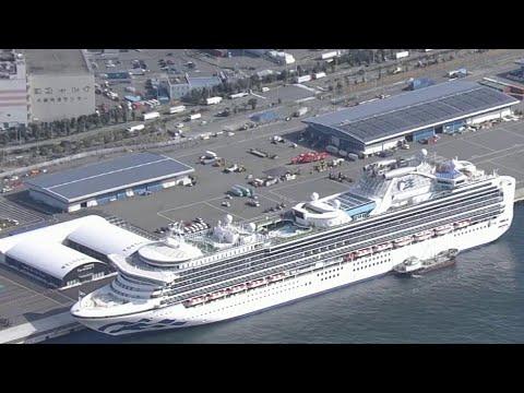 Жизнь пассажиров лайнера Diamond Princess, застрявшего в Йокогаме, напоминает жизнь заключенных.