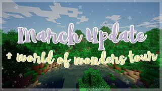 March Updates 2018 & World of Wonders Tour ♡ Lavenderly