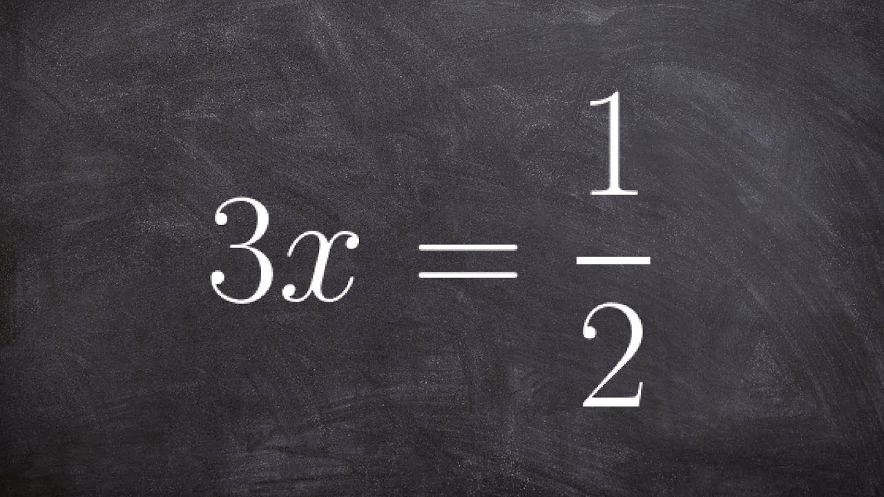 how to solve division equations