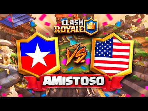 "CHILE vs USA // Clash Royale Amistoso ""DUELO IMPERDIBLE"" en DIRECTO 🔴 - Preparacion CR Worlds"