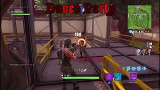 No Scope Party!  Fortnite Funny MLG moments #6