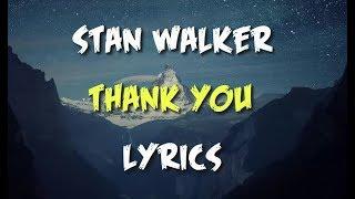 Stan Walker Thank You Lyrics