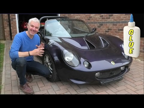 How GLUE Saved My Lotus From Being CRUSHED! Chassis Damage Fix