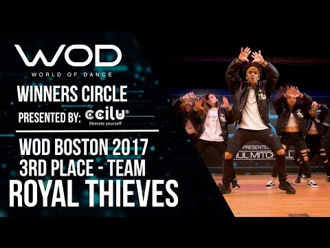 Royal Thieves | 3rd Place Team Division | Winners Circle | World of Dance Boston 2017 #WODBOS17