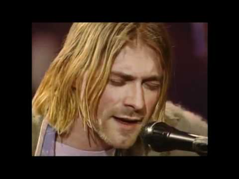 Nirvana - Pennyroyal Tea [Unplugged In New York, Lyrics, 1993 HD]