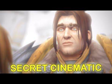 WoW Legion 7.2 - King Anduin Wrynn Cinematic - MEETS VARIAN [SPOILER WARNING] SECRET CINEMATIC