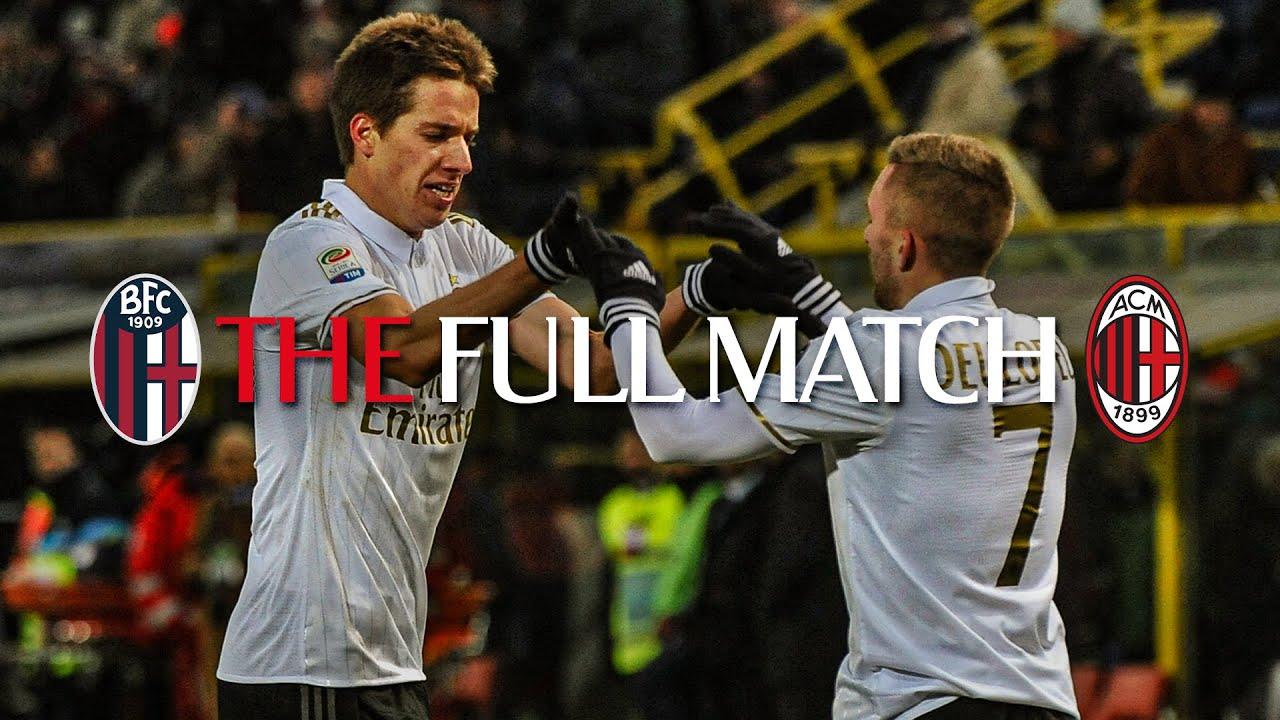 Full Match Bologna 0 1 Ac Milan Serie A Tim 2016 17 Youtube