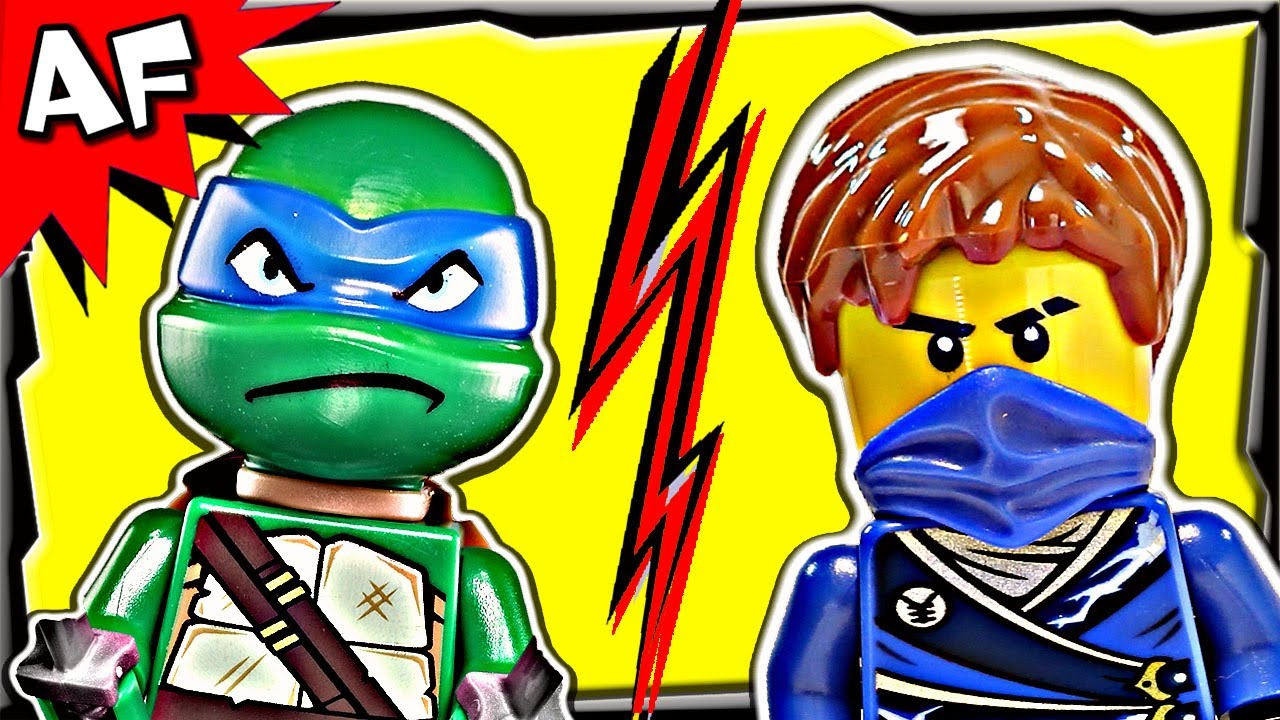 Ninjago jay vs leonardo tmnt lego crossover tournament 7 youtube - Ninjago vs ninjago ...