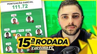 Cartola FC #15 Rodada   50 PONTOS SÓ NO CAPITÃO!