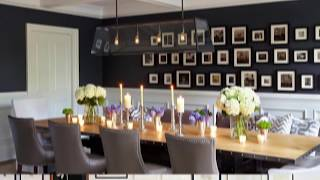 Gorgeous Gallery Walls for the Modern Dining Room that Inspire