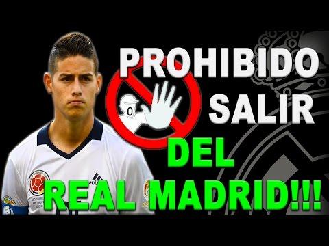 REAL MADRID // NOTICIAS -- JAMES RODRÍGUEZ, LE PROHIBEN SALIR!!!