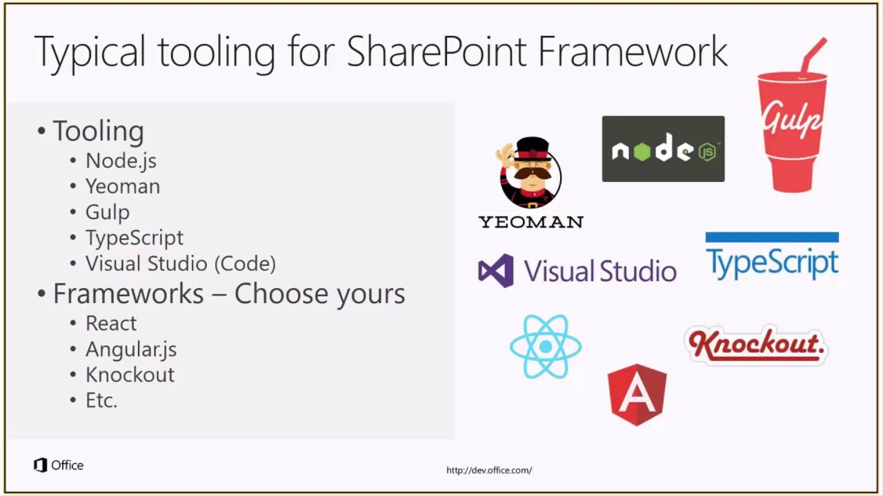 PnP Web Cast - Preparing for SharePoint Framework - What should I learn?