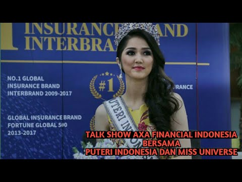 Talk Show Miss Universe dan Puteri Indonesia Bersama AXA Financial Indonesia