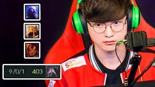 Everything FAKER did at Spring 2018 (HE'S ANGRY 😡) | #LeagueOfLegends
