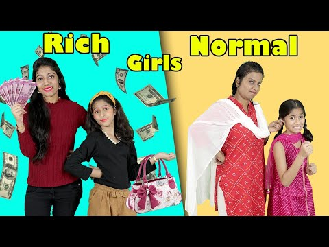 Rich Girl Vs Normal Girl | Comedy Video | Pari's Lifestyle