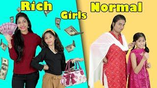 Rich Girl Vs Normal Girl | Comedy Video | Pari's Lifestyle
