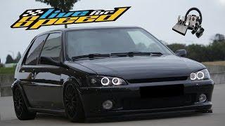 Live For Speed (LFS) - Peugeot 106 GTI (kısa tanıtım) - w/fanatec direksiyon seti