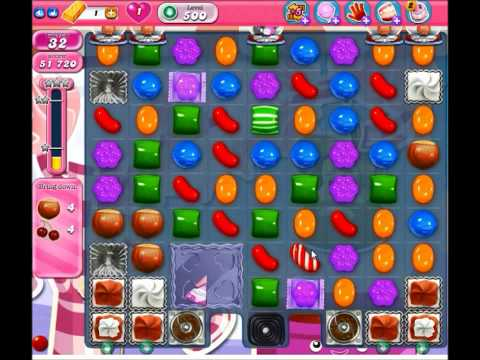 Candy Crush Saga Level 500