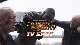 Fast & Furious Presents - Hobbs & Shaw - TV Spot (Bucle Up)