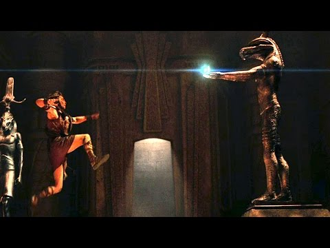 """Into The Tomb"" GODS OF EGYPT - Movie Clip"