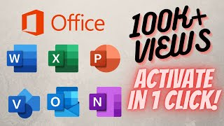 how to remove product activation failed from MS Office Tutorial #1