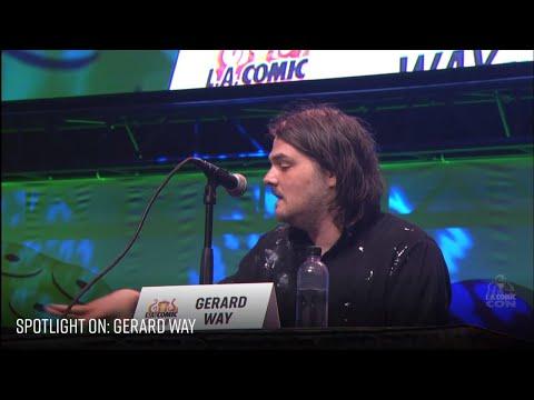 Lacc 2019 Gerard Way Panel   Rus Sub