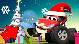 Monster-trucks für Kinder - WEIHNACHTEN CARTOON - Das Geheimnis Geschenk - | Monster-Stadt