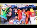 Secret Base Pillow Fort Challenge with Ryan's Family Review!!