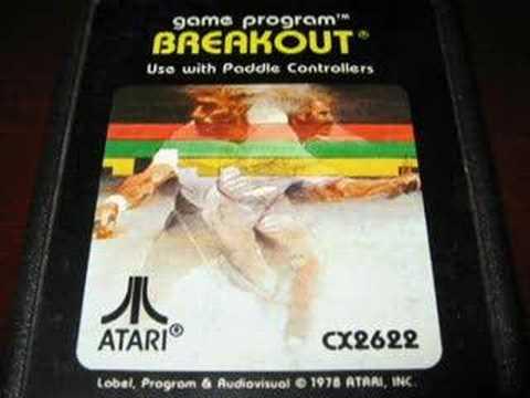 Classic Game Room - BREAKOUT for Atari 2600 review