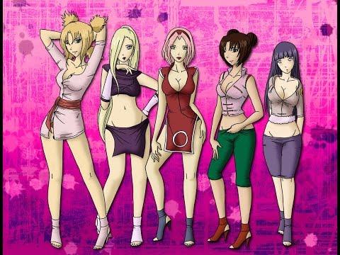 Top 25  Nữ Nhân Vật Nóng Bỏng Nhất Naruto