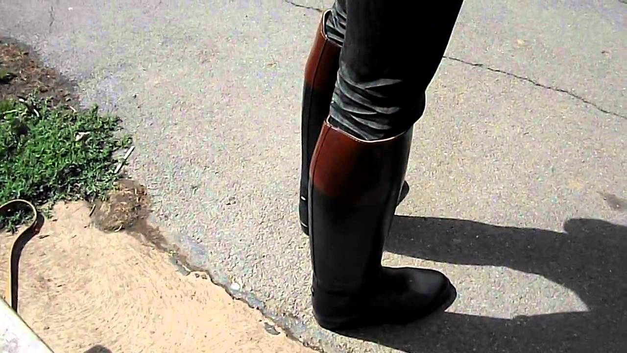 walking the park in aigle riding boots.mp4 - YouTube